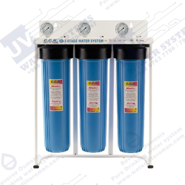 CCK 3 Stage Jumbo Whole House Filter