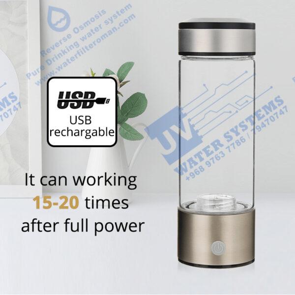 New Hydrogen Water Oman Hydrogen Bottle Oman Best in Class 500 ml 1