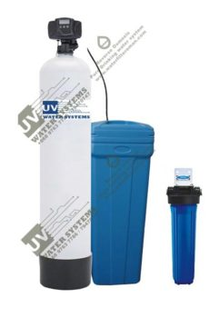 Salt based water softener hard water soft water iron