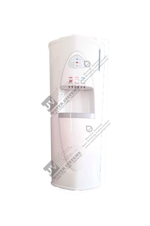 Water dispenser hot and cold RO system