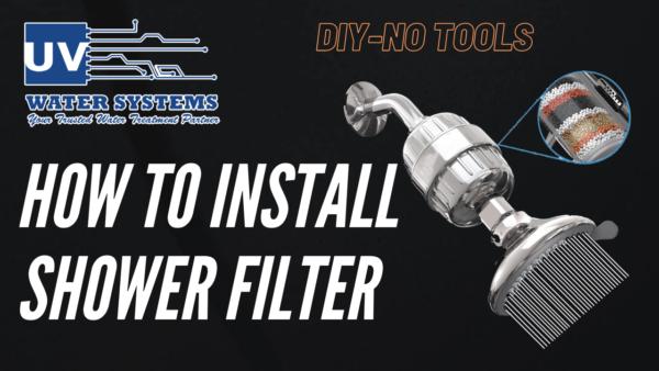 Shower Filter Installation